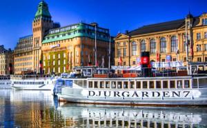 Stockholm 50 minuter från Låsta